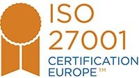 ISO27001 Certification Europe Cogendo certification stamp
