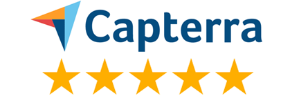 Capterra 5 star review rating