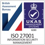 ISO27001 Certification Badge