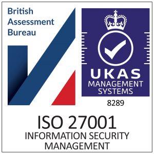 ISO27001 Certification Europe Cogendo certification stamp